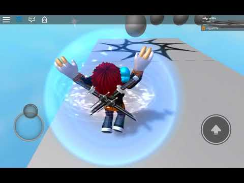 "My new game on Roblox ""MLG obby course"""