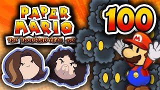 Paper Mario TTYD: The Grumpy Gamer Show - PART 100 - Game Grumps