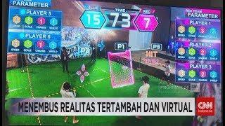 Mencoba Inovasi Game VR dan AR di Indonesia Game Xperience 2018