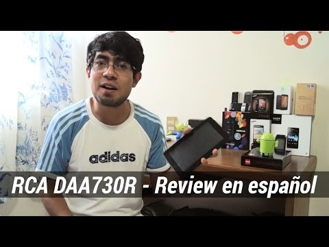 RCA DAA730R - Review en español (Tablet con TV)