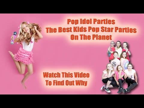 Pop Star Kids Parties Sydney and Newcastle - Pop Idol Parties