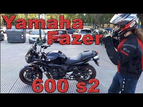 Review Yamaha Fazer 600 s2