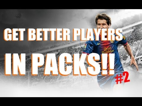 FIFA 13/14 Ultimate Team Pack Opening Method! Better Players In Packs!