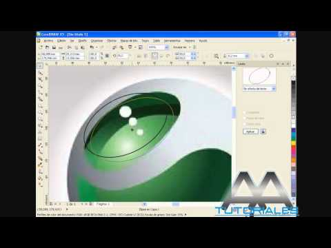 COREL DRAW X5 - logo sony ericsson! (HD)