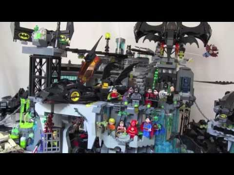 Lego City Batcave Lego Batman The Batcave Moc