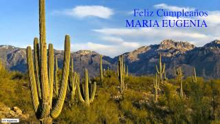 Maria Eugenia   Nature & Naturaleza