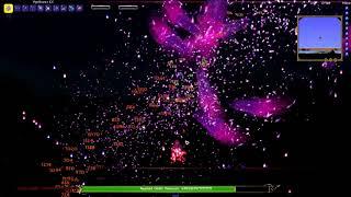 Terraria - Ascened Chibii Devourer Fight