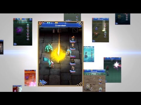 Final Fantasy Record Keeper Launch Trailer