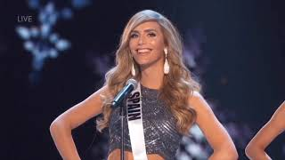 SPAIN - Miss Universe 2018 Preliminary Performance