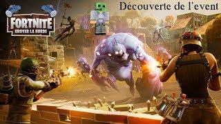 """Fortnite - Test Event """"Broyer la Horde"""""""