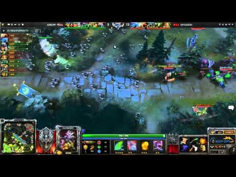 Arrow vs Invasion, Starladder Sea Preseason by Egamingbets, LB Final, Game 2