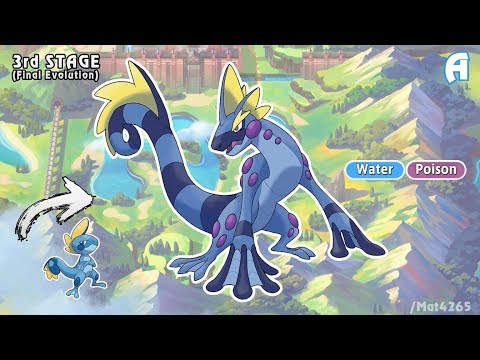 Pokemon Sword And Shield Starters Evolution Gen 8 Fanmade Youtube
