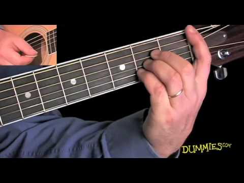 B flat chord guitar finger position