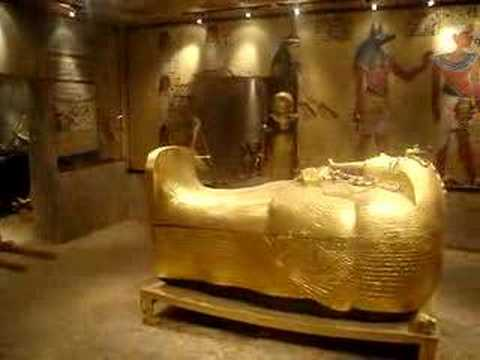 king tut 39 s tomb in luxor youtube. Black Bedroom Furniture Sets. Home Design Ideas