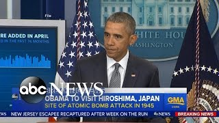Obama to Become First Sitting US President to Visit Hiroshima