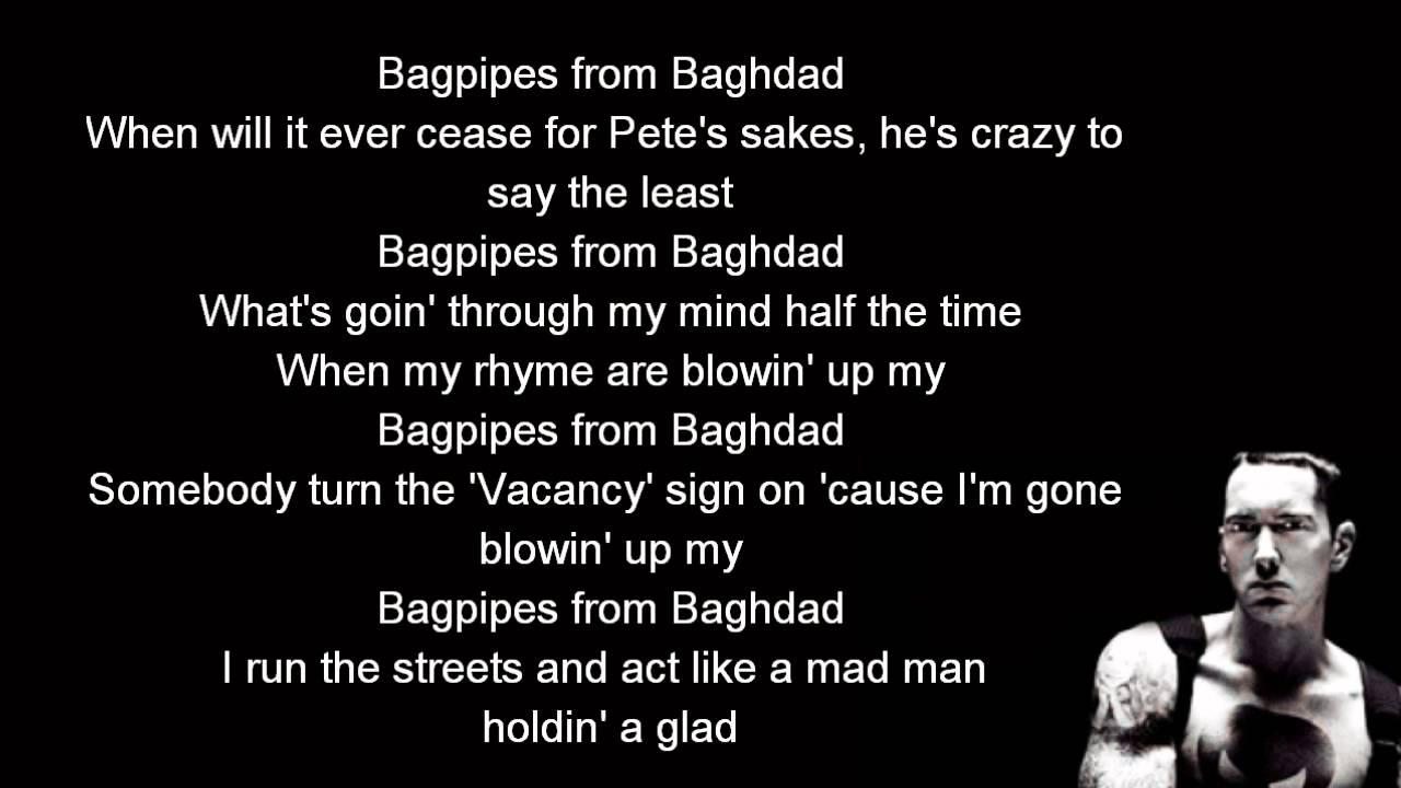Eminem - Bagpipes From Baghdad Lyrics | MetroLyrics