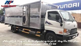 BÁO GIÁ !! Xe tải hyundai hd120sl thùng kín dài 6.4m | Ô tô Nam Phát.