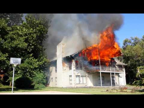 9717 Maplewood House Fire Sheridan & Turnpike HD
