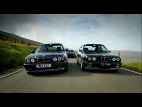 Top Gear - BMW M5 vs BMW M3  С чего всё начиналось