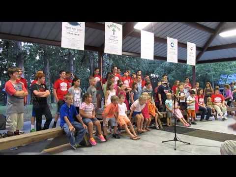 Lake Creek Campmeeting - Love and Light VBS - 7 of 8 - Haiti Water and Theme Song