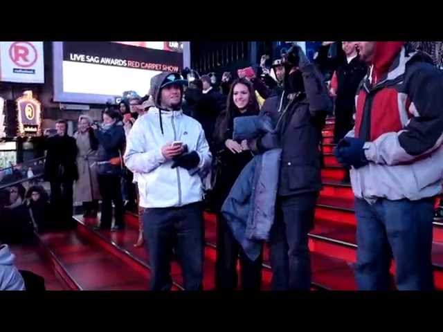 Bobby & Anastasia's Proposal Flash Mob   Times Square