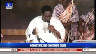 Baba Ebenezer Obey Features At The 2015 Xmas Carol Of ogun