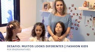 Desafio: Muitos Looks Diferentes   Fashion Kids   BEBÊ & FAMÍLIA