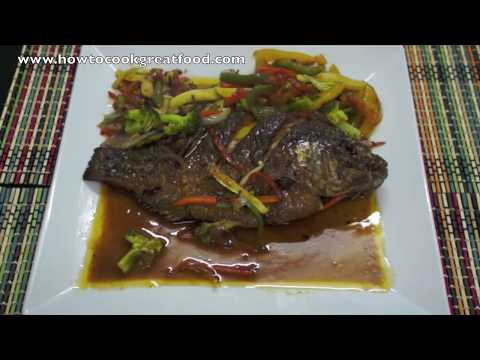 Whole tilapia recipe videos for How to cook a whole fish