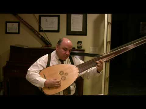 Dowland's Goodnight by Ronn McFarlane performed on Archlute