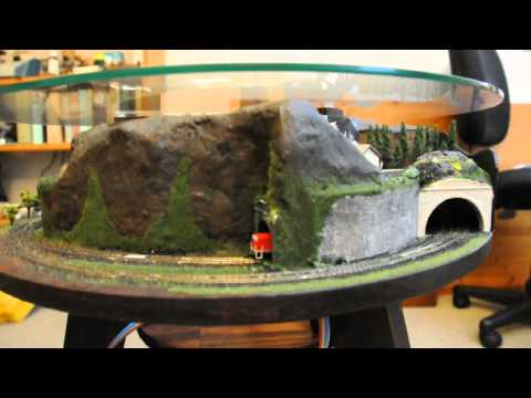 Zannulus Coffee Table Model Train Layout 2014 - YouTube