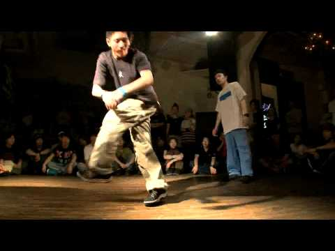 DANCE@LIVE HOUSE S7_KANTO1【QUATERFINAL】 Suu vs Naotoshi(WINNER Suu)