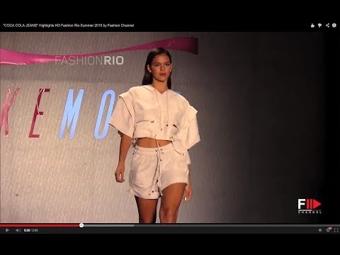 """COCA COLA JEANS"" Highlights HD Fashion Rio Summer 2015 by Fashion Channel"