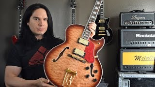Beautiful Hollowbody Guitar (less than $300 from China!) Starshine ES-175 type - Demo / Review