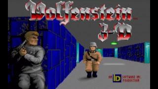 Gameplay Wolfenstein 3D retro 2. rész