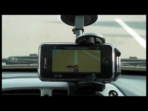 TomTom Sat Nav App - Apple iPhone 4 (Version 1.4.1) iOS 4 Tested Music Videos