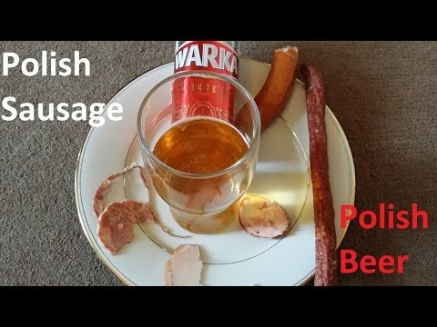 Pairing A Selection Polish Sausage with Warka Polish Lager Beer & Wroclaw Beer Festival News