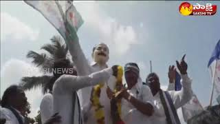 YSRCP Leader Gorla Kiran kumar participates in sangibava yatra in Yecherla