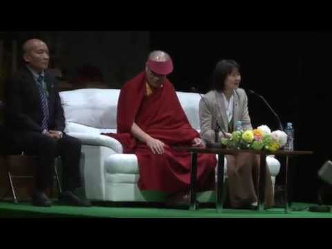 Public talk by His Holiness the Dalai Lama at Sendai, Japan