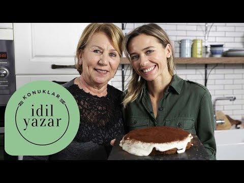 Annemle Tatlı Yaptık! | Kolay Tiramisu Tarifi | İdil Yazar ile Tatlı Tarifleri