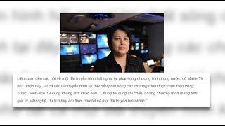 PHÓNG SỰ CỘNG ĐỒNG: Người Việt hải ngoại nghĩ gì về sự việc VietFaceTV và Truyền Hình Vĩnh Long?
