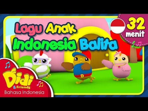 download lagu Lagu Anak Balita Indonesia | Didi & Friends | 32 Menit