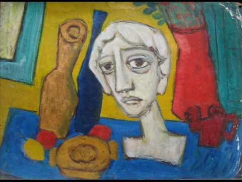 Ciro Campos pinturas abstracta figurativa CABEZAS DE YESO - YouTube