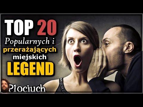 Plociuch #220 - Popularne I Przerażające Miejskie Legendy - TOP 20