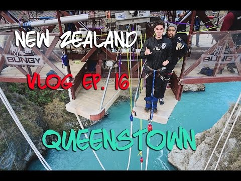 Kinging-It New Zealand: Vlog 16   Queenstown   AJ Hackett Bungy   Kawarau Bridge Bungy   Glenorchy