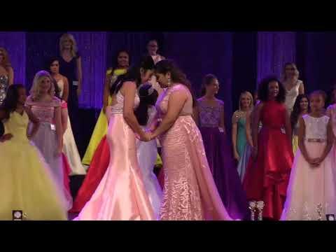 Crowning: Miss Princess of America 2017-Gabriela Moreno