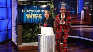 RuPaul and Ellen Host