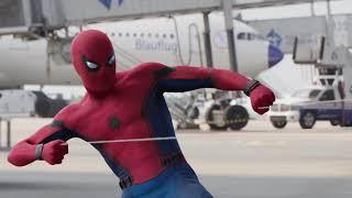 Spider Man - cảnh bay lượn của Người nhện
