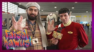 Kabul TV auf der Star Trek Convention - Faisal Kawusi Show