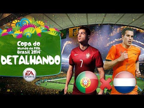 2014 Fifa World Cup Brazil - Estadios, Modos e Seleções! - Portugal x Holanda no Mineirão! [PS3]