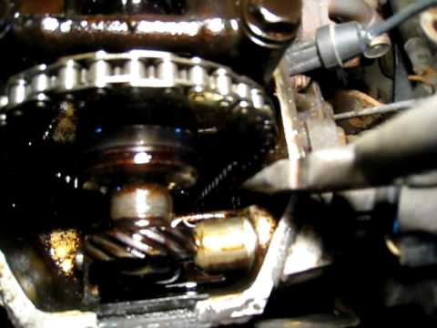Broken Guide on a Toyota Timing Chain